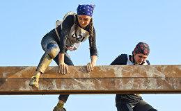 Первые соревнования экстремального забега с препятствиями Mübarizlər