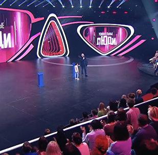 Юный азербайджанец Руслан Сафаров на международном проекте российского телеканала Россия 1 Удивительные люди