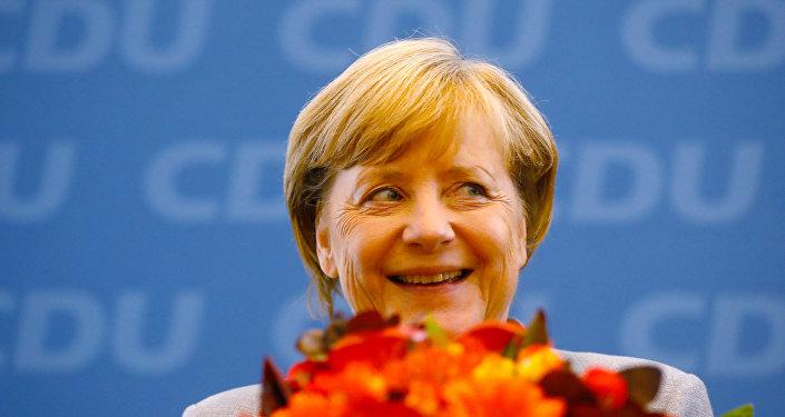 Действующий канцлер ФРГ Ангела Меркель