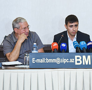 Пресс-конференция сына Дильгама Аскерова — Кюрдоглу Аскерова