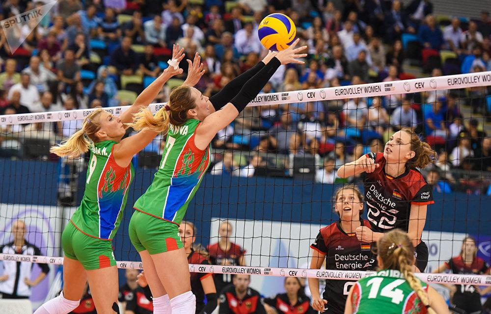 Женская сборная Российской Федерации поволейболу стартует начемпионате Европы