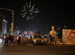 Курды на улицах Эрбиля, 25 сентября 2017 года