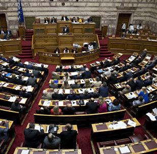 Парламент Греции, фото из архива