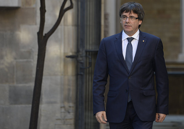 İspaniyanın Kataloniya Muxtar bölgəsinin rəhbəri Karles Puçdemon