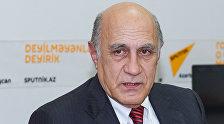 Политолог Фикрет Садыхов в Мультимедийном пресс-центре Sputnik Азербайджан