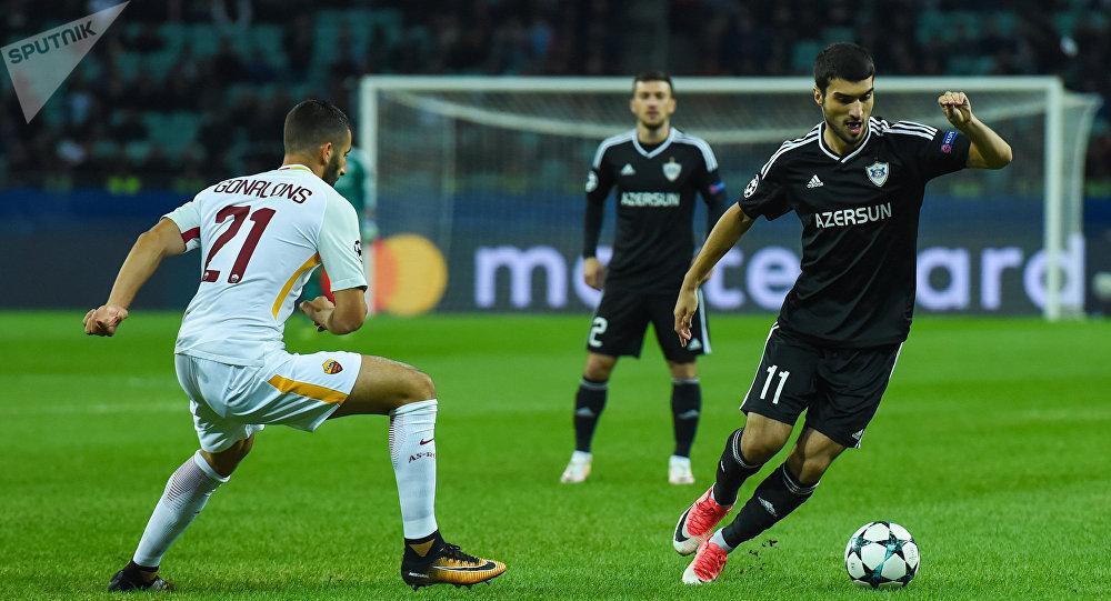 «Карабах» завоевал первое очко врамках группового этапа Лиги чемпионов