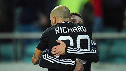 Футбольный матч  Карабах (Азербайджан) – Рома (Италия)