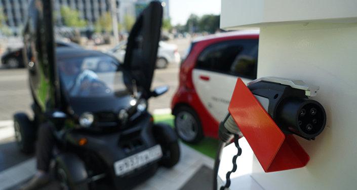 Станция быстрой зарядки для электромобилей