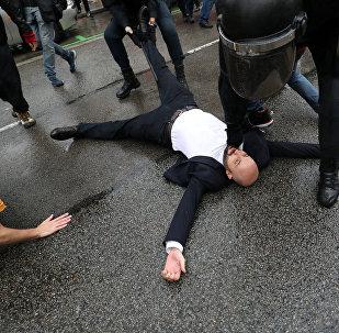 Barselonada nümayişçilərlə polisin qarşıdurması, 1 oktyabr 2017-ci il