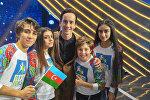 Рустам Керимов и Суада Алекперова стали участниками международного музыкального телеконкурса, Во весь голос