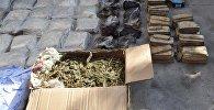 Наркотические вещества перед их уничтожением в антинаркотическом ведомстве, фото из архива