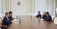 Президент Ильхам Алиев принял делегацию во главе с министром иностранных дел Украины