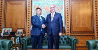 Встреча глав МИД Азербайджана и Украины Эльмара Мамедъярова и Павло Климкина