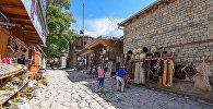 Туристический поселок Лагич в Азербайджане, архивное фото