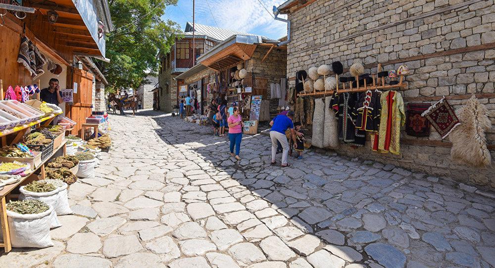 Туристический поселок Лагич в Азербайджане, фото из архива