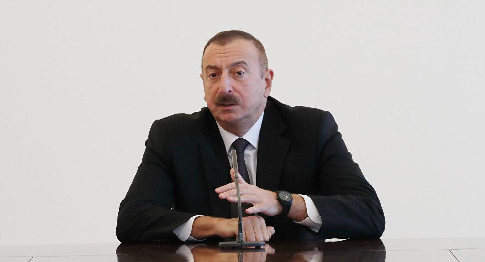 İlham Əliyev Avropa İttifaqı Şurasının nümayəndə heyətini qəbul edib