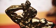Статуэтка бронзового Орфея на церемонии вручения телевизионной премии ТЭФИ 2017 в номинации Дневной эфир в Москве