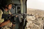 Военнослужащий российской армии в Пальмире, Сирия