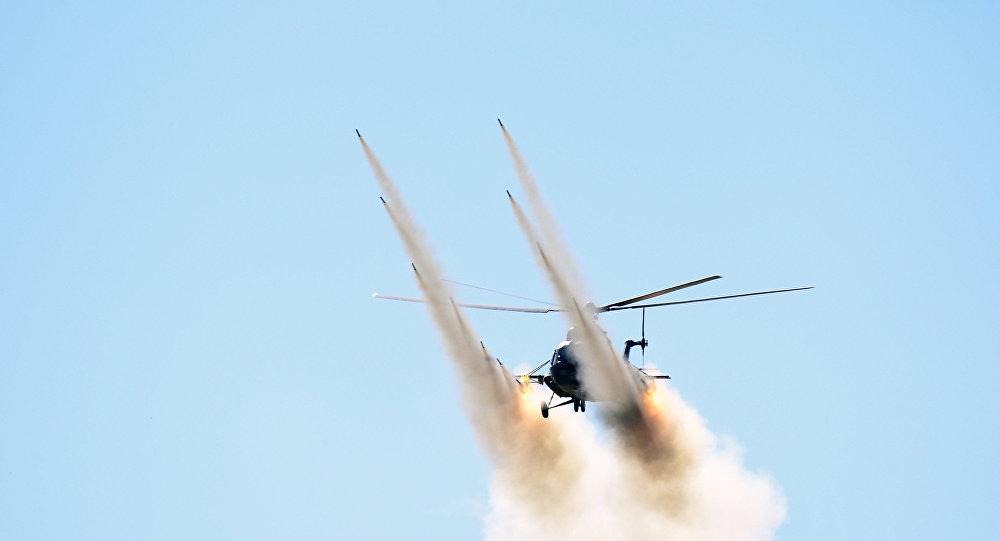 Mi-8 helikopterinin qəzaya uğraması