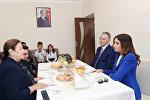 Первый вице-президент Мехрибан Алиева приняла участие в церемонии предоставления квартир в городке для вынужденных переселенцев в Масазыре
