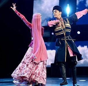 Азербайджанский танец Гайтагы на сцене Ты супер! Танцы