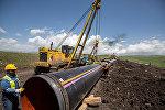Строительные работы трансанатолийского газопровода (TANAP), фото из архива
