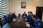 Делегация ВВС Казахстана находится с визитом в Азербайджане