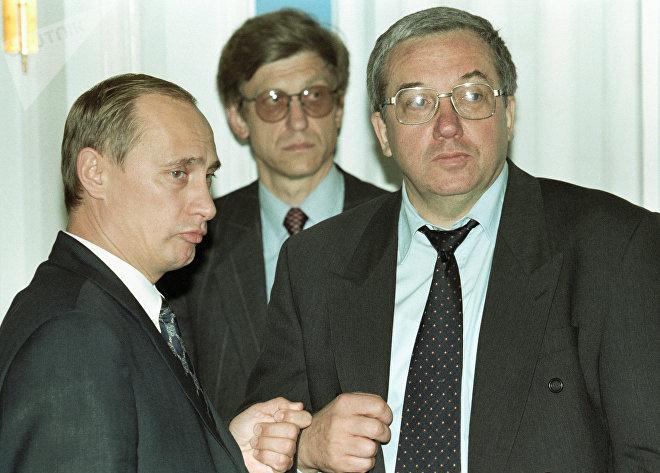 Путин и Кокошин на церемонии подписания российско-американских документов