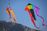 """Красочное шоу воздушных змеев на празднике """"Тбилисоба"""""""