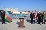 Курс планирования морской безопасности, организованный Королевским флотом Великобритании, начался на базе ВМС в Баку