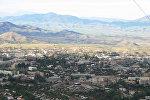 Общий вид на село Вянгли Кельбаджарского района Азербайджана