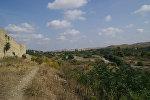 Аскеранская крепость в оккупированном Аскеранском районе Азербайджана, фото из архива