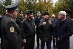 Müdafiə naziri Belarus Respublikasının Hərbi Akademiyasında olub