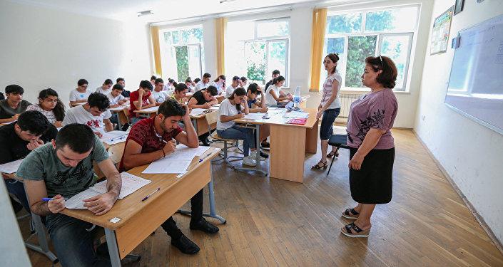 Учебный процесс в одном из вузов Баку, фото из архива