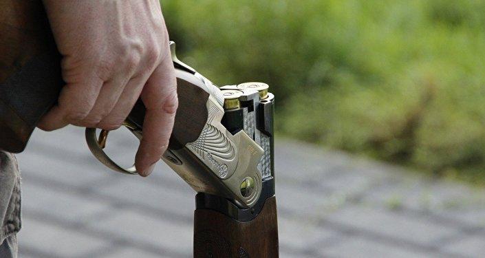 Охотничье ружье, фото из архива