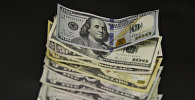 Денежные купюры долларов США