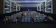 Зрительный зал кинотеатра, архивное фото