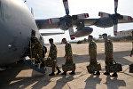 Группа миротворцев Вооруженных сил Азербайджана отправляется в Афганистан, фото из архива