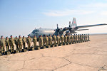 Группа миротворцев Вооруженных сил Азербайджана отправлена в Афганистан