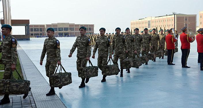 Группа миротворцев направлена изАзербайджана вАфганистан