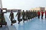 Группа миротворцев Вооруженных сил Азербайджана отправлена в Афганистан, фото из архива