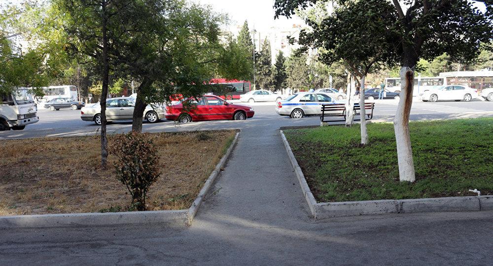 Ситуация по адресу проспект Гара Гараева д. 38 в Низаминском районе Баку