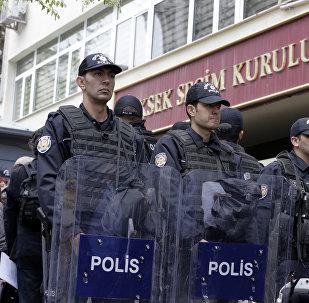 Türk polisi, arxiv şəkli