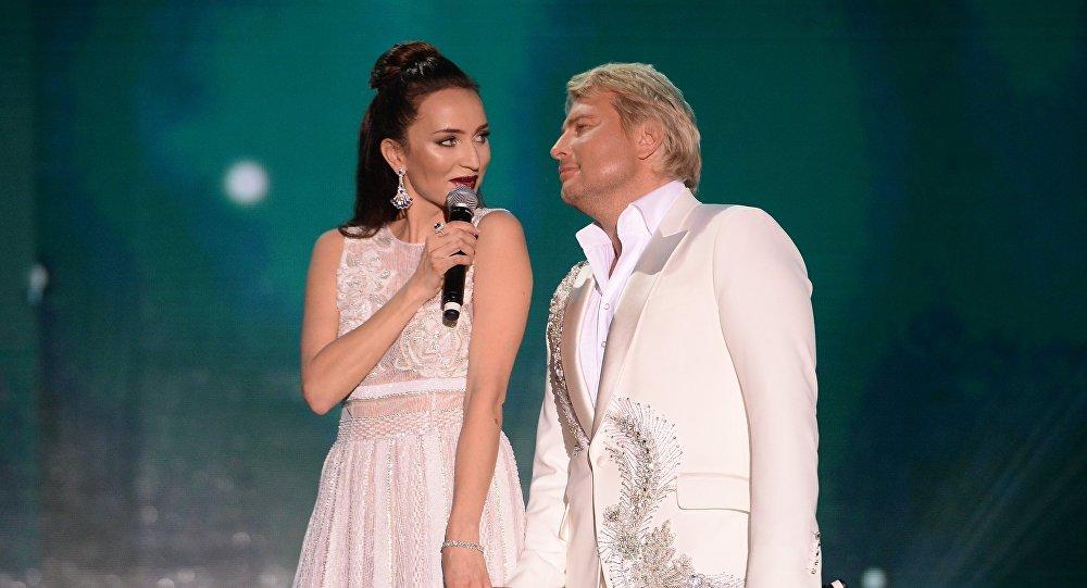 Певцы Софи и Николай Басков