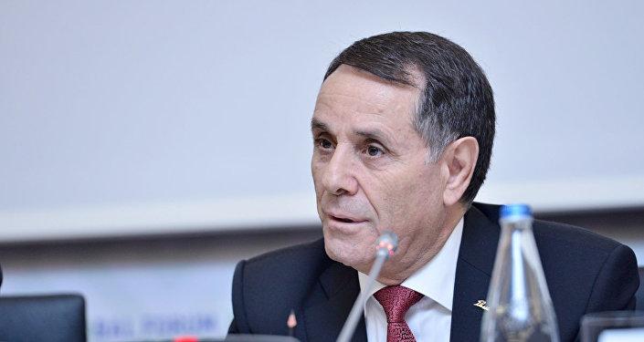 Заместитель руководителя Администрации Президента Азербайджана Новруз Мамедов, фото из архива