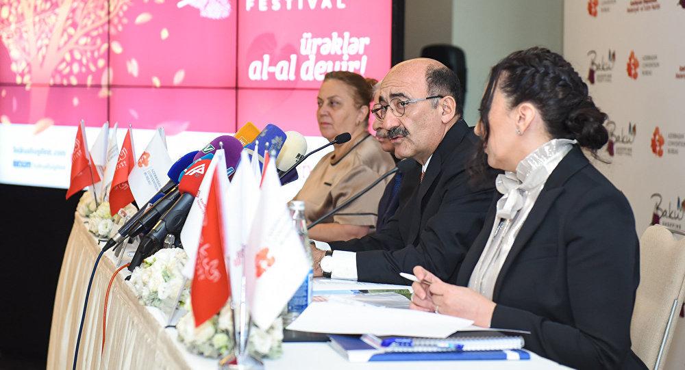 Пресс-конференция посвященная II шопинг фестивалю в Баку