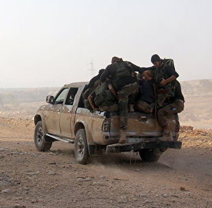 Боевик группировки Джебхат ан-Нусра в Сирии