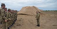 Учения ракетных и артиллерийских соединений ВС Азербайджана