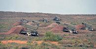 Учения ракетных и артиллерийских соединений ВС Азербайджана, фото из архива