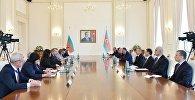 Состоялась встреча президентов Азербайджана и Болгарии в расширенном составе